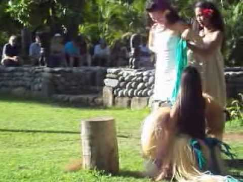 Polynesian Cultural Center - Tahiti wedding dance