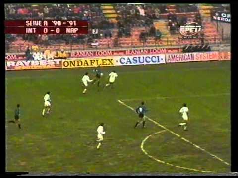 Stagione 1990/1991 - Inter vs. Napoli (2:1)
