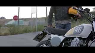 getlinkyoutube.com-Yamaha SR400 homage by Benders