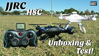 getlinkyoutube.com-JJRC H8C Quadcopter [HD Cam] - Cheerson CX-20 Mini Clone?!?!? - Syma X5C Killer - Unboxing & Test!