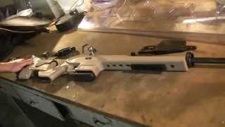 getlinkyoutube.com-Mosin Nagant AA9130 Archangel Stock Installation