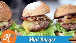 Cara Membuat Mini Burger Daging Empuk | STANLEY MARCELLIUS