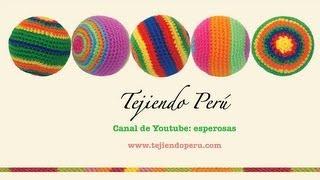 getlinkyoutube.com-Pelotas de colores tejidas a crochet (amigurumi balls)