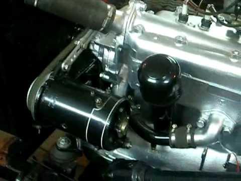Завел двигатель ГАЗ 67