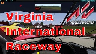 getlinkyoutube.com-Assetto Corsa - Virginia International Raceway VIR Mod