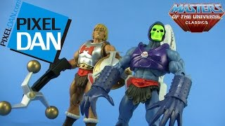 Masters of the Universe Classics Flying Fists He-Man & Terror Claws Skeletor Video Review