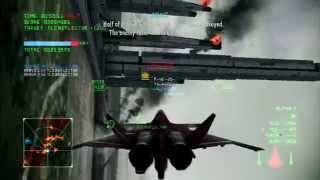 getlinkyoutube.com-Excalibur Onslaught I | CFA-44 Nosferatu -SL- | A Rank | Ace Combat Infinity Co-Op