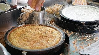 Malaysian Street Food - TRADITIONAL PANCAKE Cream Corn | Peanut | Butter