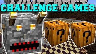 getlinkyoutube.com-Minecraft: EVIL BLOCK CHALLENGE GAMES - Lucky Block Mod - Modded Mini-Game