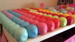 getlinkyoutube.com-EOS lip balm collection!