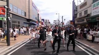 getlinkyoutube.com-結婚式余興 GANGNAMSTYLE (KYGfamily) 大宮駅東口