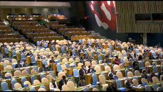 getlinkyoutube.com-PRIME MINISTER DR. RALPH GONSALVES' SPEECH AT THE GENERAL ASSEMBLY OF THE UNITED NATIONS (2015)