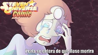 getlinkyoutube.com-Perla se entera de que Rose morira | Steven Universe Comic| By eliserosberg