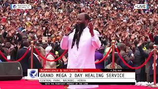 PROPHET DR OWUOR SHAKES NAIROBI - 8 July 2018 Grand Mega Healing Service