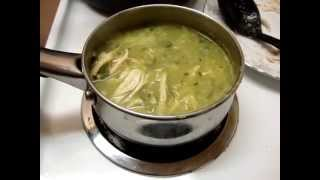 getlinkyoutube.com-Receta de guisado para los tamales verdes comida mexicana 1/6 - La receta de la abuelita