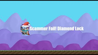 getlinkyoutube.com-Growtopia - Scammer Fail #2 (Diamond Lock)