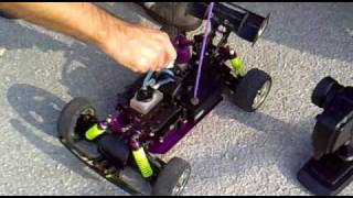 getlinkyoutube.com-seben himoto hispeed 1:10 nitro rc buggy start and go