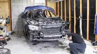 getlinkyoutube.com-BMW F02 750Li Engine Removal
