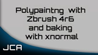 getlinkyoutube.com-Zbrush Polypainting and Baking in Xnormal Tutorial (Basics)