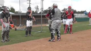 getlinkyoutube.com-Next Level Catching Academy 4/30/16 How to be a better catcher...