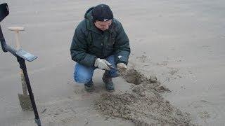 getlinkyoutube.com-Sortie detection sur les plages de Normandie -  XP DEUS
