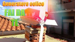 getlinkyoutube.com-Generatore eolico FAI DA TE