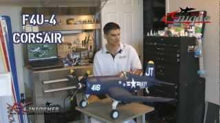 getlinkyoutube.com-Unique Models F4U-4 Corsair BUILD GUIDE by: RCINFORMER