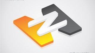 getlinkyoutube.com-Tutorial Cara Membuat Logo 3D dengan Corel Draw Versi Ke 3