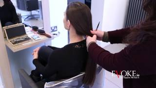getlinkyoutube.com-Alison Canavan Donates Hair to Rapunzel Foundation