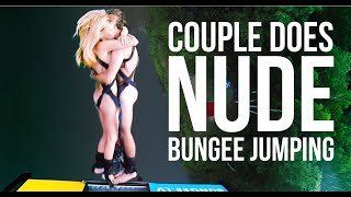 getlinkyoutube.com-Naked, happy people bungee jumping!