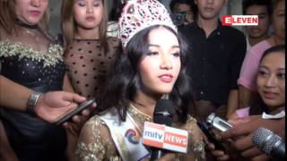 getlinkyoutube.com-Miss Asia Pacific World 2014 ဆုရွင္ ေမျမတ္ႏိုး ျမန္မာႏိုင္ငံသို႔ျပန္လည္ေရာက္ရွိလာ