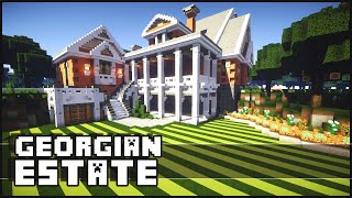 getlinkyoutube.com-Minecraft - Georgian Estate