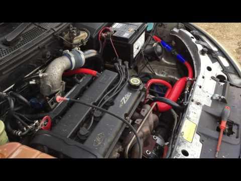 Focus RS Mk1 Management Install on Zetec 2.0 Turbo