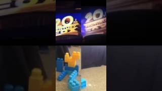 getlinkyoutube.com-20th Century Fox Vs Lego Fox Logos