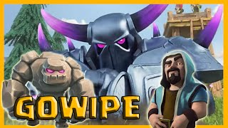 getlinkyoutube.com-Clash of Clans ita - TATTICA GOWIPE TH8 - .By AsG
