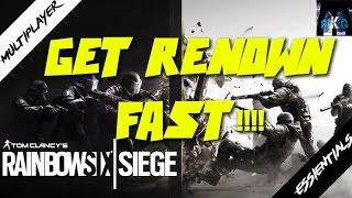getlinkyoutube.com-RAINBOW SIX SIEGE | Get Renown Fast!! (Multiplayer essientals)
