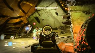 getlinkyoutube.com-Destiny: The Taken King - The Dreadnaught: Deploy Beacon, Destroy Galiath Tank (Transmat Zone)