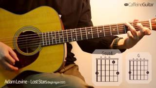 getlinkyoutube.com-Lost Stars - Adam Levine | Begin Again OST | 기타 연주, Guitar Cover, Lesson, Chords