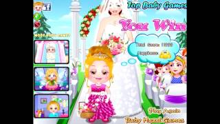 getlinkyoutube.com-Бесплатные игры онлайн  Baby Hazel Flower Girl  Малышка Хейзел Цветы, игра для девочек