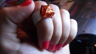 getlinkyoutube.com-للبنات فقط : كيف تصنعين خاتما من الورق ؟؟