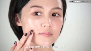 彩妝教學 │CC霜的神奇魔力!兩步驟完成透明裸妝肌【Bella.tw儂儂 X she.com Taiwan】