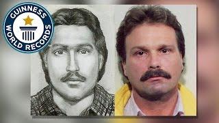 getlinkyoutube.com-Forensic artist helps catch over 1000 criminals - Guinness World Records
