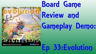 Board Game Review and Gameplay Demo - Evolution (updated)