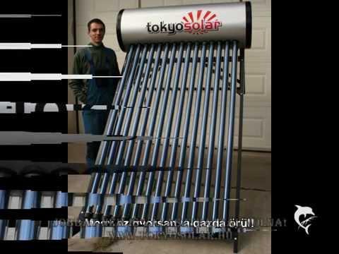 Tokyo Solar Napkollektor Szerelése IP01 Heat Pipe