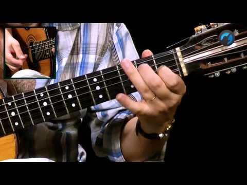 Ritmo de Pagode (como tocar - aula de viola)