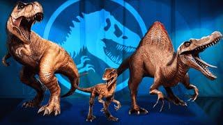 getlinkyoutube.com-Happy ANNIVERSARY Dinosaur Event | Jurassic World The Game