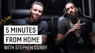 Nipsey Hussle & Stephen Curry Debate Hip Hop, Potty Training | 5 Minutes from Home