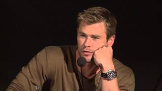 getlinkyoutube.com-Chris Hemsworth on Losing His Thor Muscles