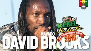 getlinkyoutube.com-David Brooks aka Mavado Live at Rebel Salute 2016