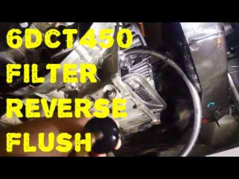 Powershift Ford 6DCT450 DPS6 Flush Internal Filter SST Getrag MPS6 SST Automatic Transmission Repair